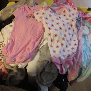 Other - Not so mystery Box of 0-3 baby clothes